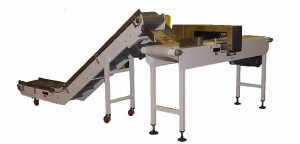 Bent Belt Conveyor to Metal Detector